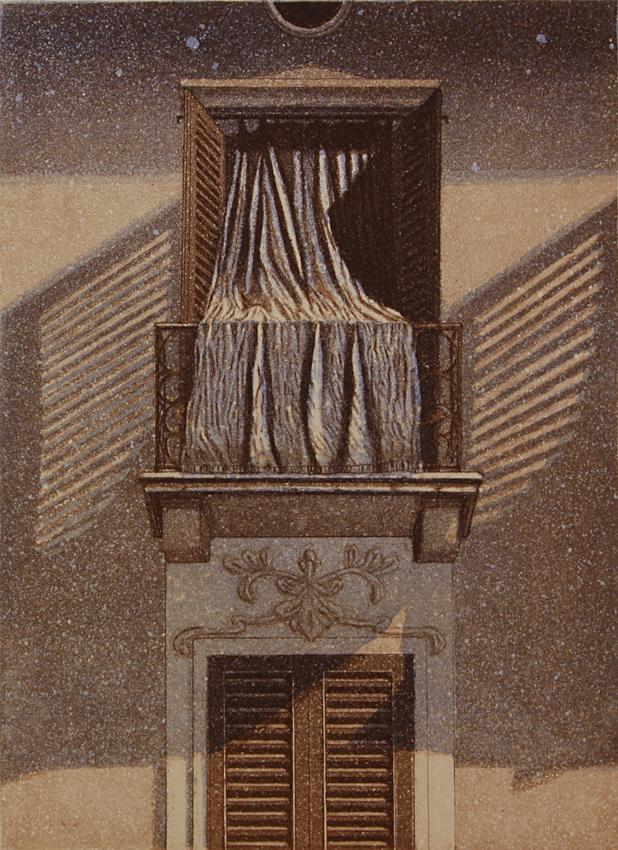 Aamu II1995, akvatinta etsaus, 29x22cm pieni copy