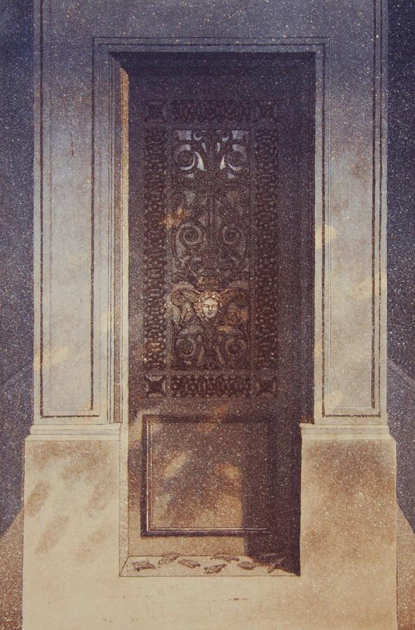 Kesäyön unelmia II 1993, akvatinta etsaus, 40x27cm pieni copy