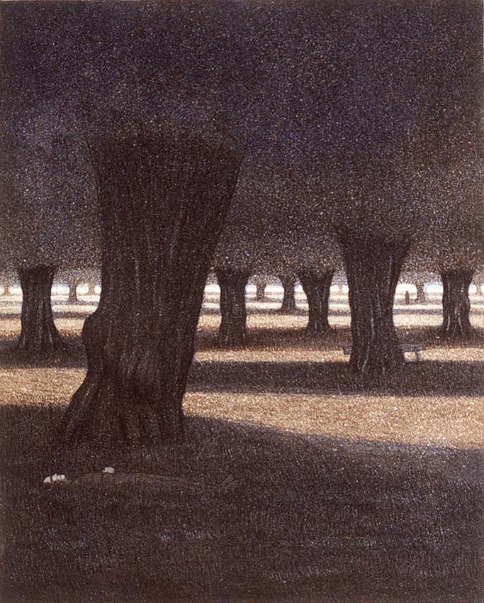 Phoenix park I 1987, akvatinta etsaus, 32x26cm pieni 2 copy
