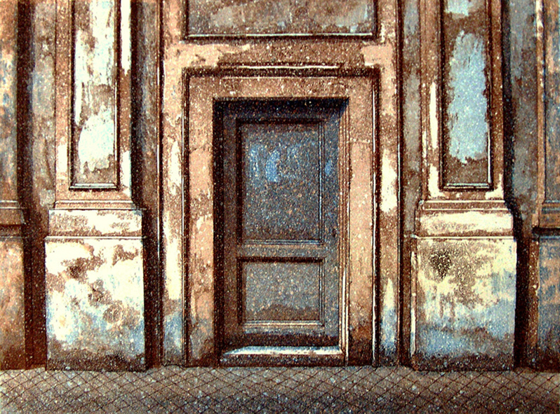 Rooma I, 1993 akvatinta etsaus, 22x29cm pieni