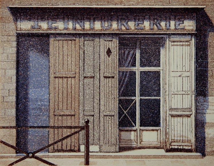 Arles 2009, akvatinta, viivasyövytys